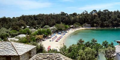 Visit beach of Aliki